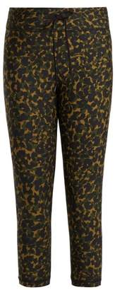 The Upside Nyc Leopard Camo Print Leggings - Womens - Khaki