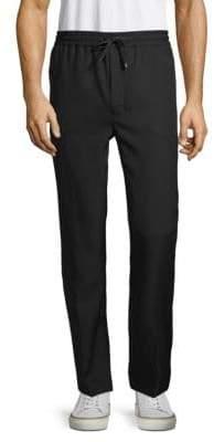 Ami Pleated Wool Pants