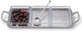Match Crudite Tray with Handles