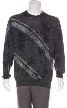Etro Wool Floral Sweater
