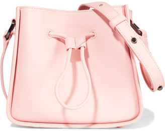 3.1 Phillip Lim - Soleil Mini Leather Shoulder Bag - Pastel pink $650 thestylecure.com