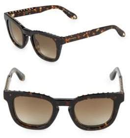 Givenchy 48MM Studded Square Sunglasses