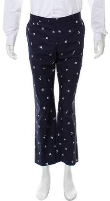 Etro Casual Flat Front Pants