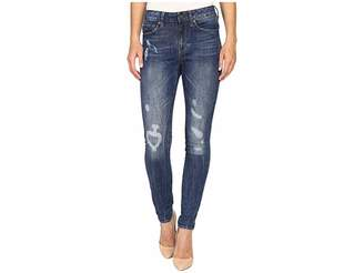 G Star G-Star 3301 Ultra High Skinny Fit Jeans in Hadron Stretch Denim Medium Aged Antic Restored Women's Jeans