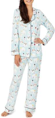 BedHead Long Sleeve Print Pajamas