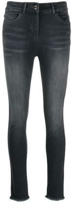 Patrizia Pepe frayed edge skinny jeans