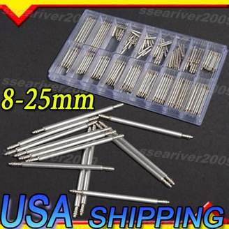 Generic 270Pcs 8-25mm Stainless Steel Watch Band Spring Bars Strap Link Pins Repair Tool