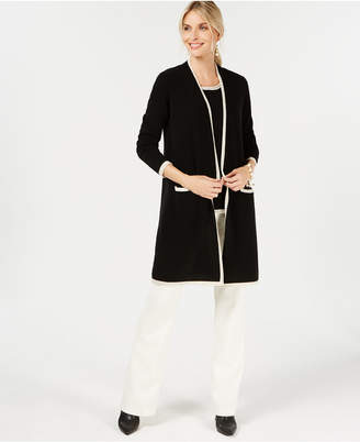 Charter Club Pure Cashmere Completer Sweater in Regular & Petite Sizes