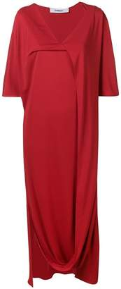 Chalayan V-neck draped dress