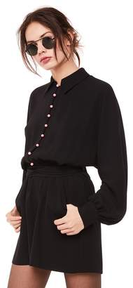 Juicy Couture Button Front Romper