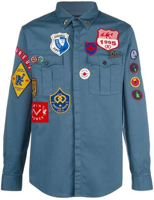 DSQUARED2 Badge shirt