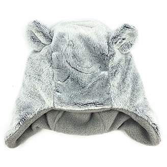 accsa Baby Novelty Cozy Winter Cute Warm Bear Hat Trapper for baby