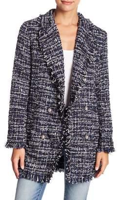 Fate Frayed Tweed Jacket