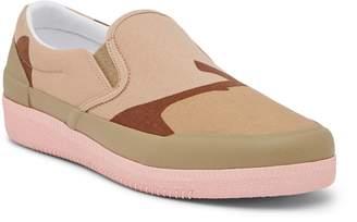 Hunter Plimsoll Desert Camo Water Resistant Slip-On Sneaker