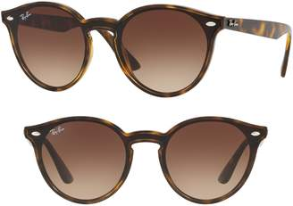 Ray-Ban Blaze 37mm Round Sunglasses