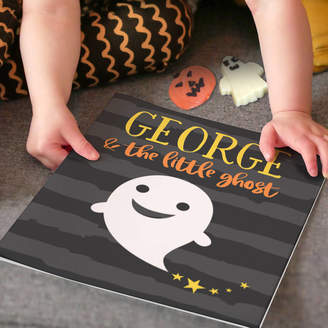 story. Letterfest Personalised Little Ghost Book