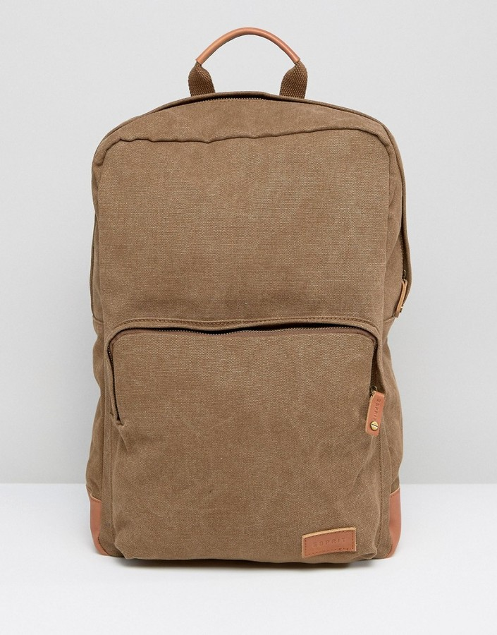 Esprit Esprit London Backpack in Canvas