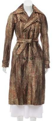 DSQUARED2 Metallic Long Coat