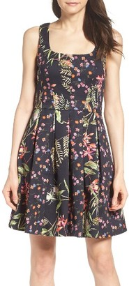 Women's French Connection Bluhm & Botero Fit & Flare Dress $188 thestylecure.com