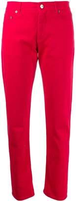 No.21 mid-rise slim fit jeans