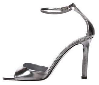 Tamara Mellon Metallic Patent Sandals