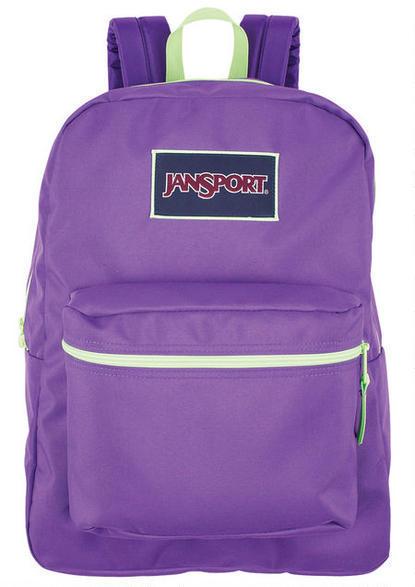 JanSport Purple Overexposed Backpack