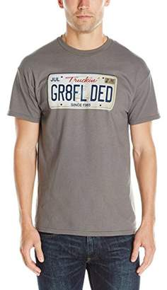Liquid Blue Men's Grateful Dead Plate T-Shirt