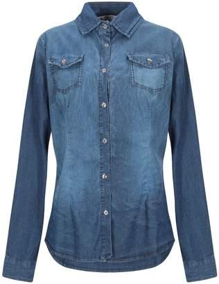 Peacock Blue Denim shirts