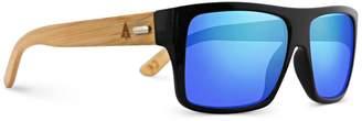 Tree Hut TREEHUT Wooden Bamboo Sunglasses Temples Classic Aviator Retro Square Wood Sunglasses (, Brown)