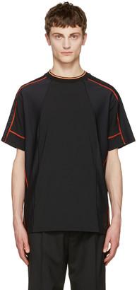 Versace Underwear Black Running T-Shirt $425 thestylecure.com