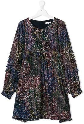 Chloé Kids TEEN ruffled dress