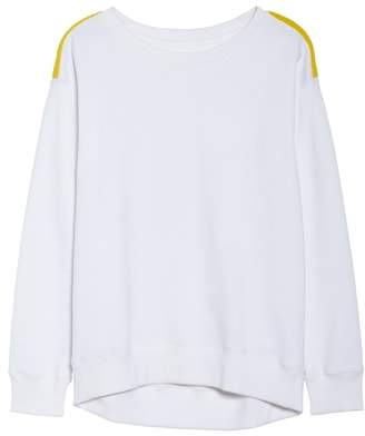 BOOM BOOM ATHLETICA BoomBoom Athletica Tricolor Shoulder Sweatshirt