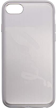 Kenzo Silver Aluminum Signature Logo iPhone 7 Case