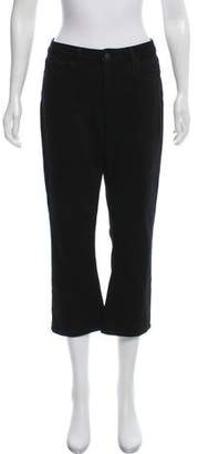 L'Agence Mid-Rise Wide-Leg Jeans