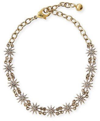 Lulu Frost Crystal Star Choker Necklace $225 thestylecure.com