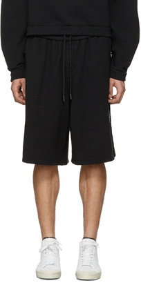 Off-White Black Quotes Shorts $335 thestylecure.com