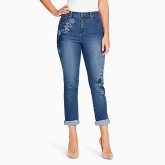 Gloria Vanderbilt Women's Amanda Embroidered Ankle Jeans