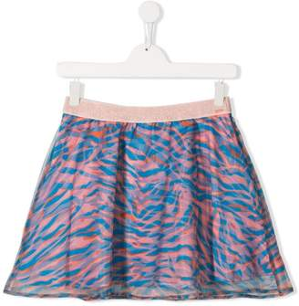 Kenzo abstract print skirt