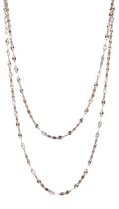 Lana 14K Rose Gold Double Strand Necklace