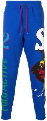 Polo Ralph Lauren ski print track pants