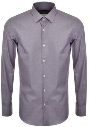 HUGO BOSS Jenno Shirt Brown