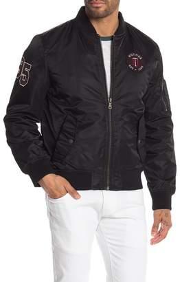 Tommy Hilfiger Patch Detail Varsity Bomber Jacket