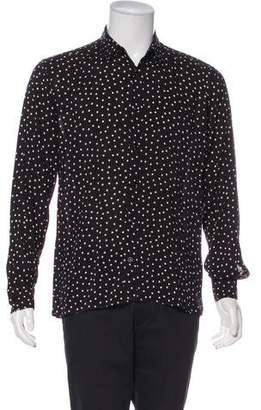 Saint Laurent 2016 Polka Dot Shirt