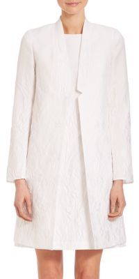 Lafayette 148 New York Floral Jacquard Thea Jacket $1,298 thestylecure.com