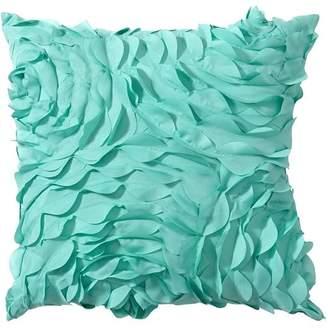 Pottery Barn Teen Pretty Petals Pillow, 14X14, Pool