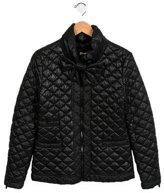 MonnaLisa Girls' Quilted Puffer Coat