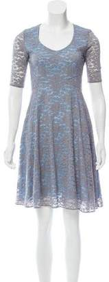 Zac Posen Z Spoke by Lace Knee-Length Dress