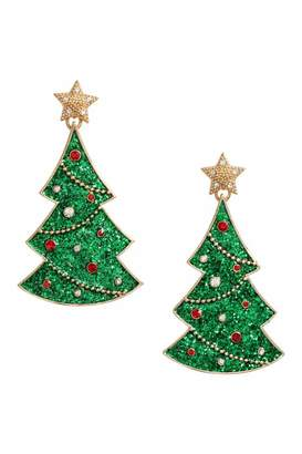 H&M Christmas Earrings - Gold-colored/Christmas tree - Women