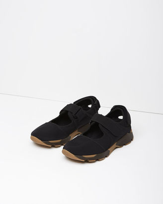 Marni Mixed Media Sneaker $610 thestylecure.com