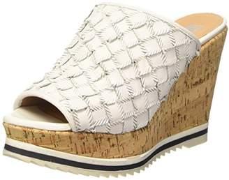 B | Private BPrivate Women's E1007X Open Toe Sandals White Size: 7